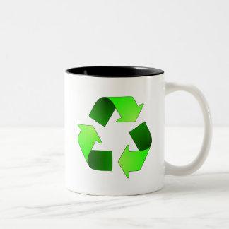 Reciclaje de la taza del símbolo