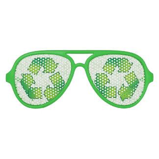 Reciclaje de símbolo lentes de sol