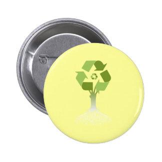 Reciclaje del árbol pin