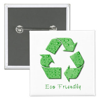 Reciclaje del botón pin cuadrado