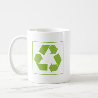 Reciclaje del logotipo taza