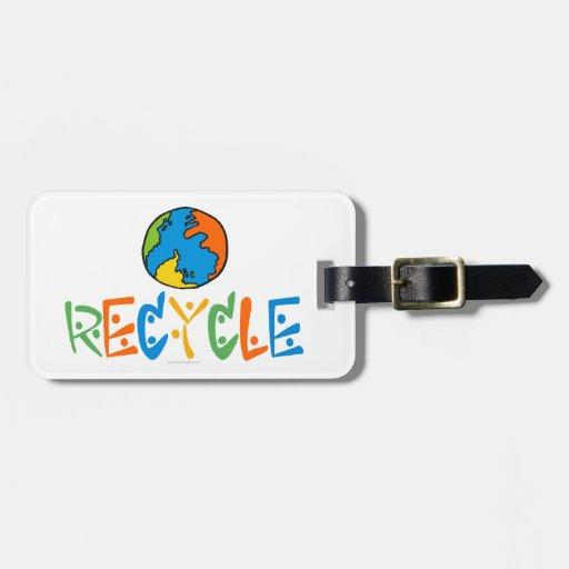 Reciclaje Etiqueta De Equipaje