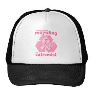 Reciclaje más extremo gorro de camionero