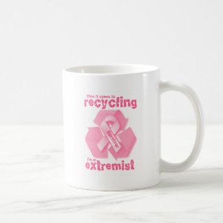 Reciclaje más extremo taza de café
