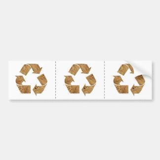Reciclaje Pegatina Para Auto