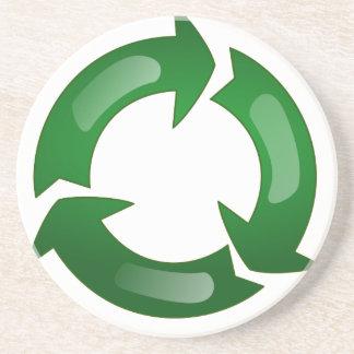 Reciclaje Posavasos Diseño