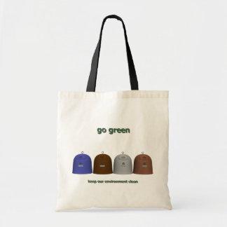 Reciclando a mujeres (observe el derecho) bolsa de mano