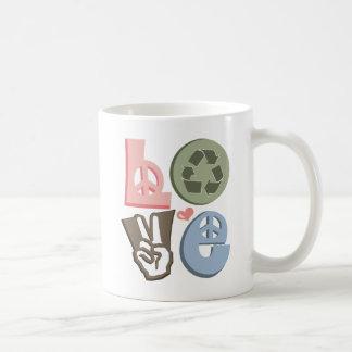 Reciclando amor recicle la taza