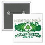 Recicle Annapolis Pin