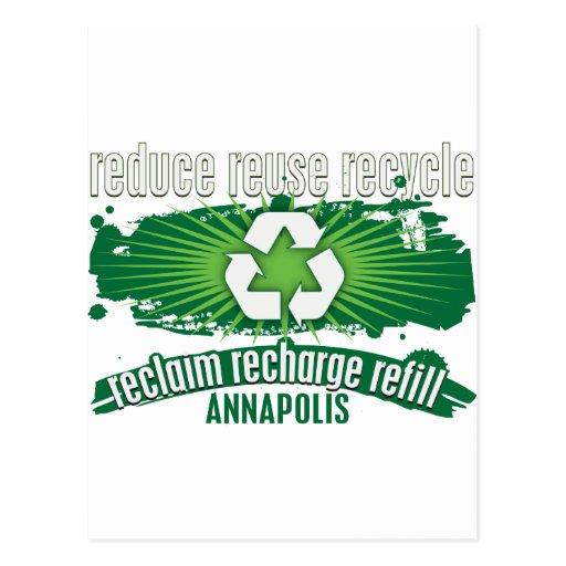 Recicle Annapolis Postales