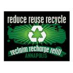 Recicle Annapolis Tarjeta Postal
