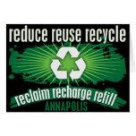 Recicle Annapolis Tarjetas