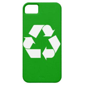 Recicle apenas el iPhone de There™ 5 Cas iPhone 5 Case-Mate Fundas