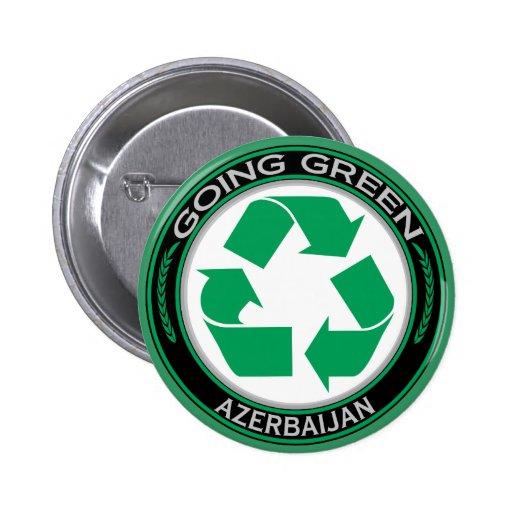 Recicle Azerbaijan Pin Redondo 5 Cm