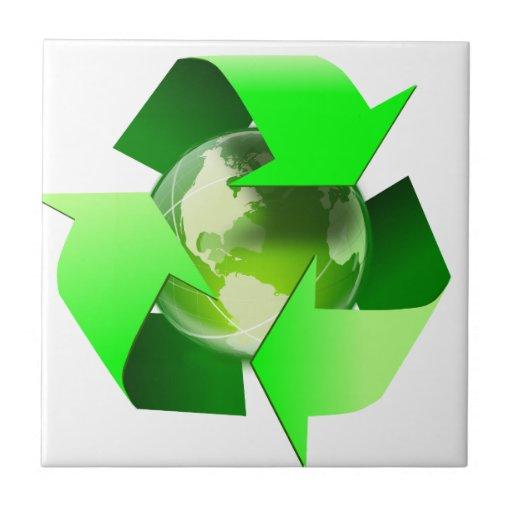 Recicle Azulejo Cuadrado Pequeño