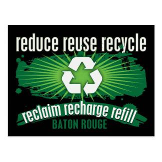 Recicle Baton Rouge Tarjetas Postales