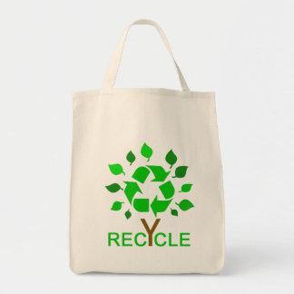 Recicle Bolsa Tela Para La Compra