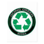 Recicle Bosnia Tarjeta Postal