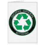 Recicle Botswana Felicitación