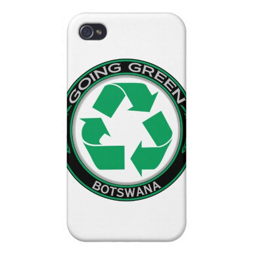 Recicle Botswana iPhone 4 Carcasa