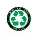Recicle Botswana Tarjetas Postales