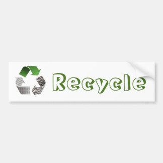 Recicle Pegatina Para Coche