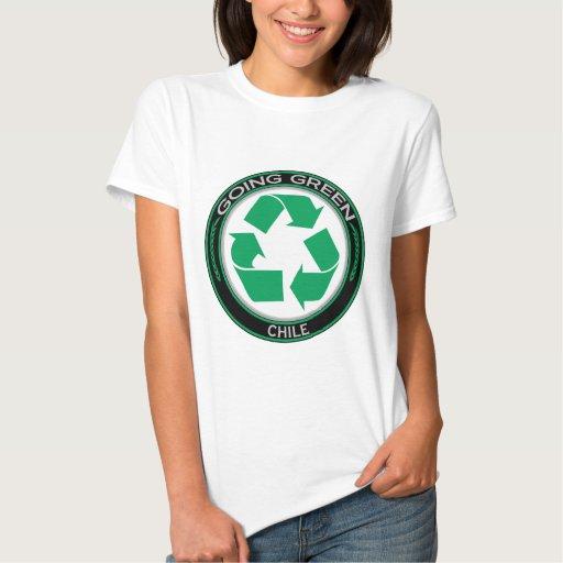 Recicle Chile Playeras