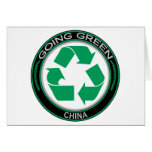 Recicle China Tarjeta
