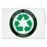 Recicle Djibouti Felicitación