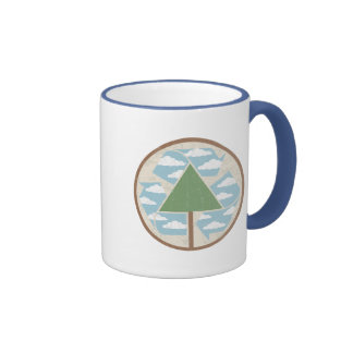 Recicle - el árbol -2 tazas