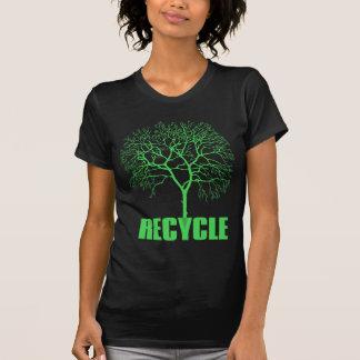 Recicle el árbol playeras