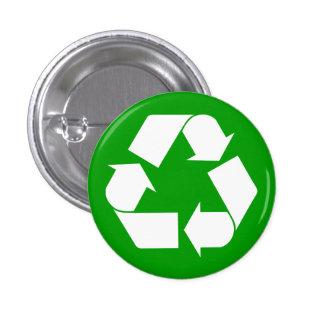 Recicle el botón pin redondo de 1 pulgada