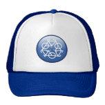 recicle el casquillo azul de Petr Kratochvil Gorros Bordados