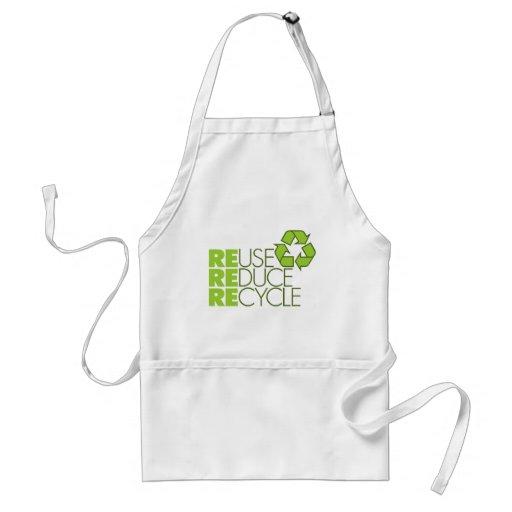 Recicle el delantal