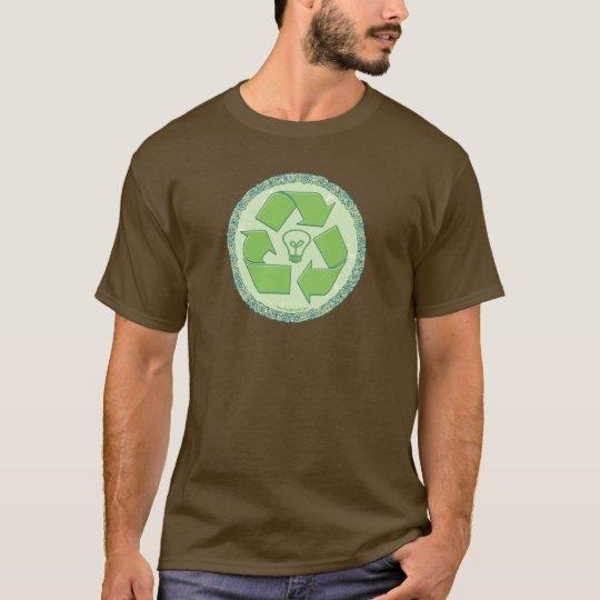 Recicle el engranaje del Día de la Tierra Playera