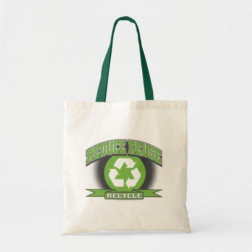 Recicle el estilo del deporte bolsa tela barata
