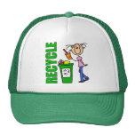 Recicle el gorra