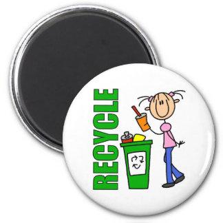 Recicle el imán
