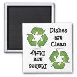 Recicle el imán del lavaplatos