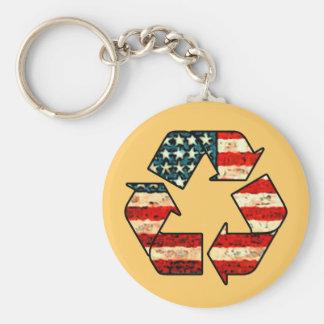 Recicle el llavero de América