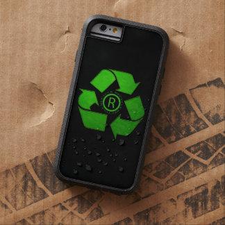 Recicle el logotipo funda tough xtreme iPhone 6