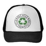 Recicle el logotipo verde de Ceter Gorro De Camionero