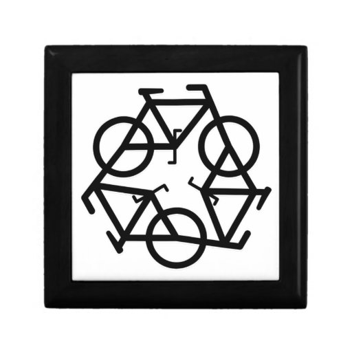 recicle el movimiento de la bici y de la vida cajas de regalo