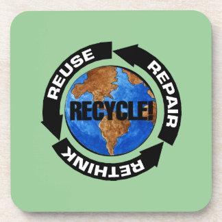 Recicle el mundo apoyavasos
