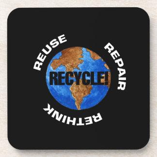 Recicle el mundo portavasos
