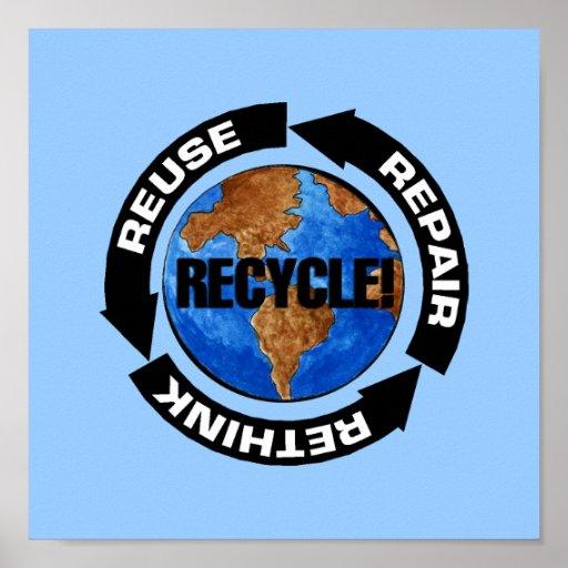 Recicle el poster