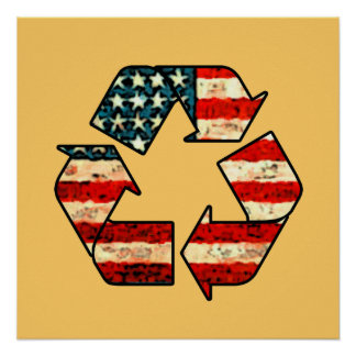 Recicle el poster de América