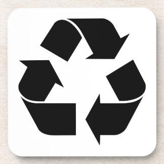 Recicle el símbolo apoyavasos