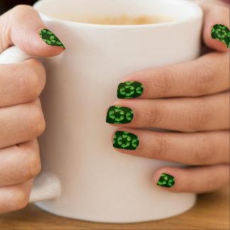 Recicle el símbolo pegatinas para uñas