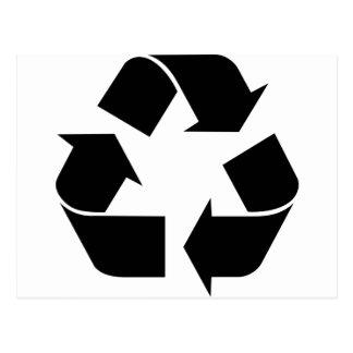 Recicle el símbolo postal